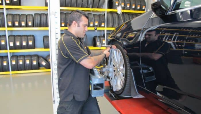Service - Wheel Alignment